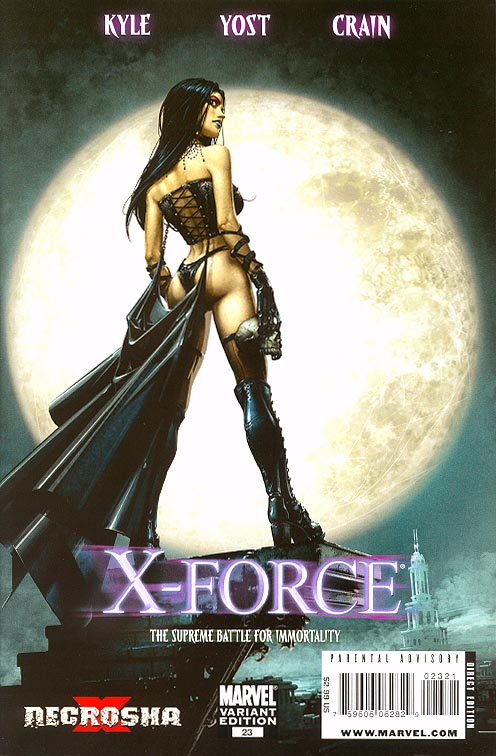 X-Force vol 3 - 23 ( 1 in 15 Incentive Crain Variant)