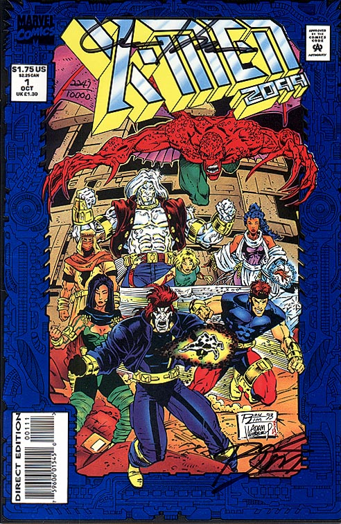 X-Men 2099 1 ( 1993 DF-Signed By ROn Lim & Adam Kubert 1 of 10000 )