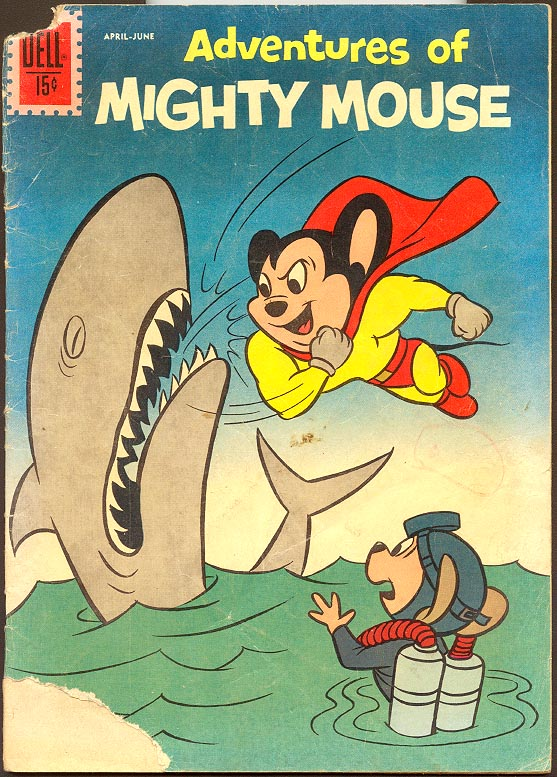 Adventures Of Mighty Mouse (Dell) 154