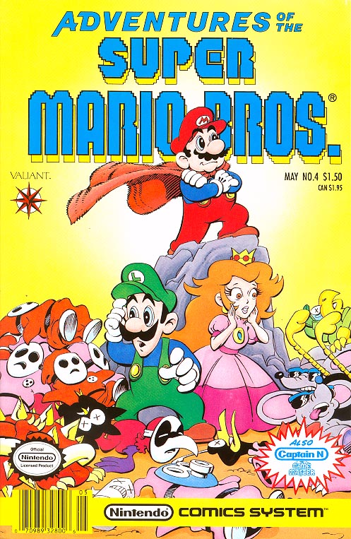 Adventures Of The Super Mario Bros 4