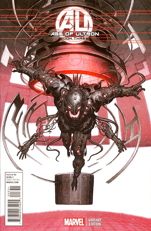 Age Of Ultron 3 (of 10 ) ( 1 in 25 Rock-He Kim Ultron Variant)
