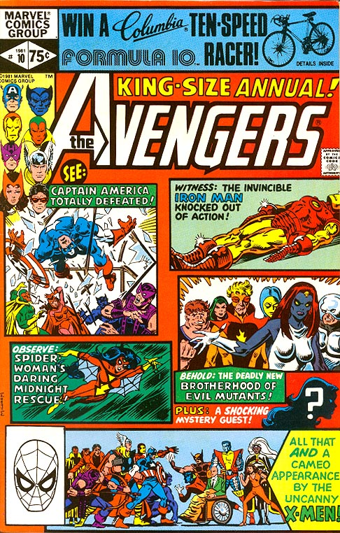 Avengers King-Size Annual 10