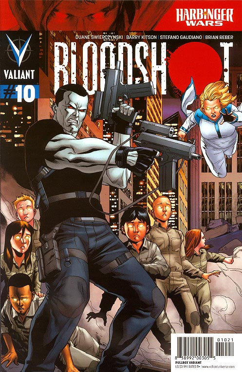 Bloodshot vol 3 - 10 (Clayton Henry Pullbox Variant)