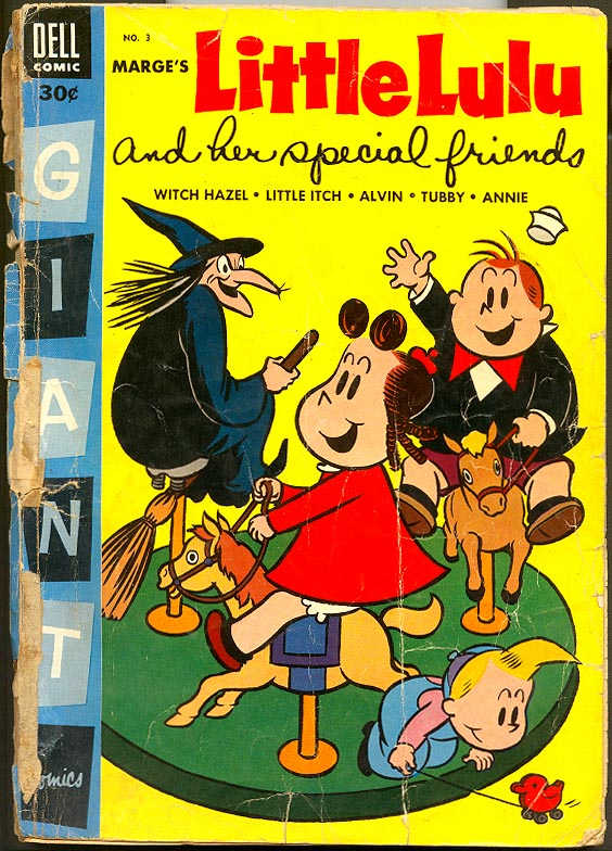 Dell Giant Comics 3 Marges Little Lulu and Her Special Friends