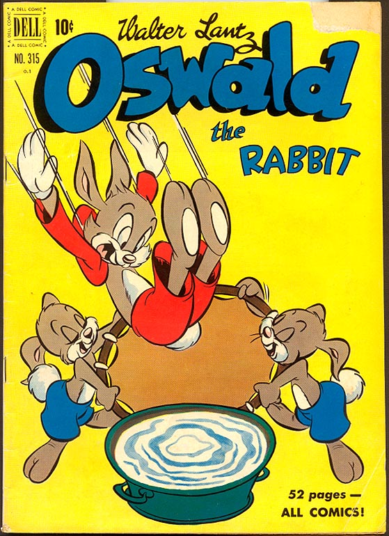 Four Color Comics (Dell) 315 Oswald The Rabbit