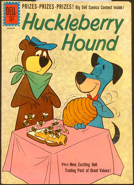 Huckleberry Hound (Dell) 12