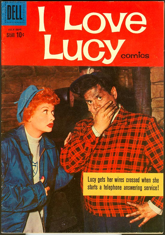 I Love Lucy Comics (Dell) 28