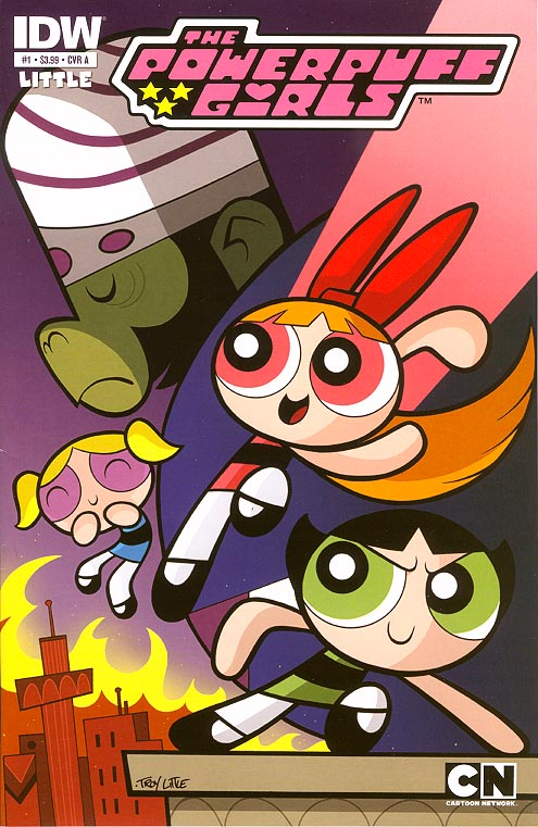 Power Puff Girls (IDW) 1 A
