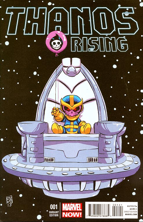 Thanos Rising 1 (Skottie Young Variant)