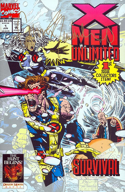 X-Men Unlimited 1 (Signed by Chris Bachalo)