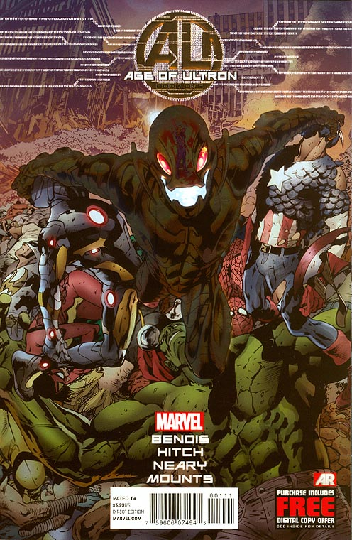 Age Of Ultron 1 (of 10 ) (Brian Hitch Foil Variant)