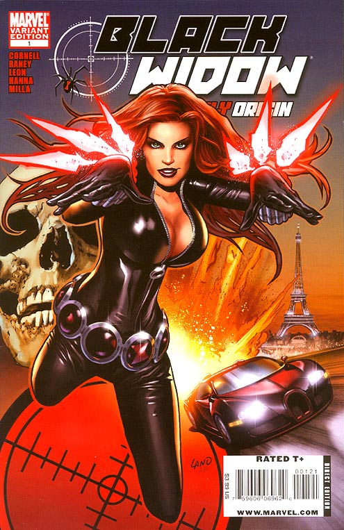 Black Widow Deadly Origin 1 (of 4 ) ( 1 in 15 Land Variant)