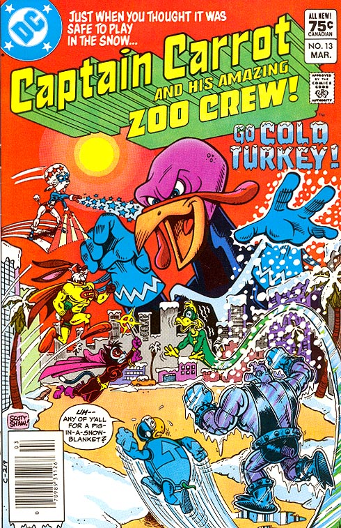 Captain Carrot And His Amazing Zoo Crew 13