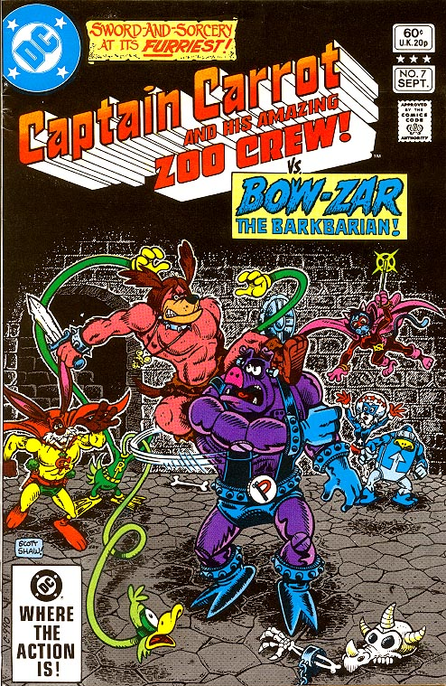 Captain Carrot And His Amazing Zoo Crew 7