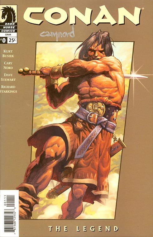 Conan (Dark Horse) 0 (Signed By Nord)