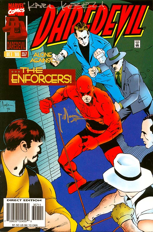 Daredevil 357 (Signed By Kessel&Nord)