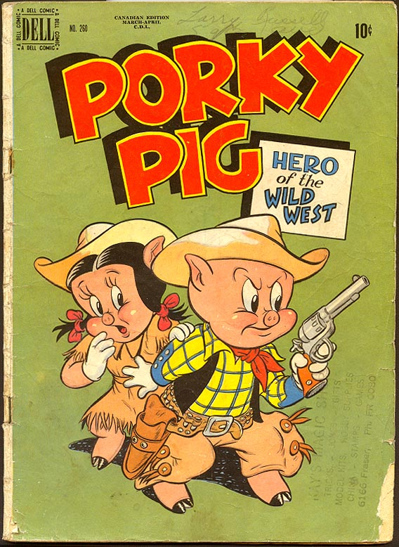 Four Color Comics (Dell) 260 Porky Pig Hero Of The Wild West