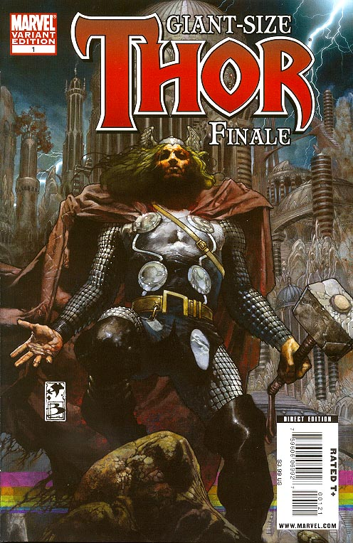 Giant Size Thor Finale 1 (one-shot) ( 1 in 20 Simone Bianchi Variant)