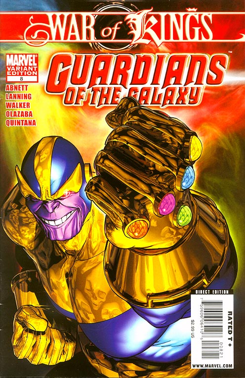 Guardians of the Galaxy vol 2 - 8 ( 1 in 10 Brandon Peterson Villain Variant)