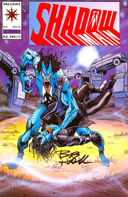 Shadowman 15 (Signed By Bob Hall)