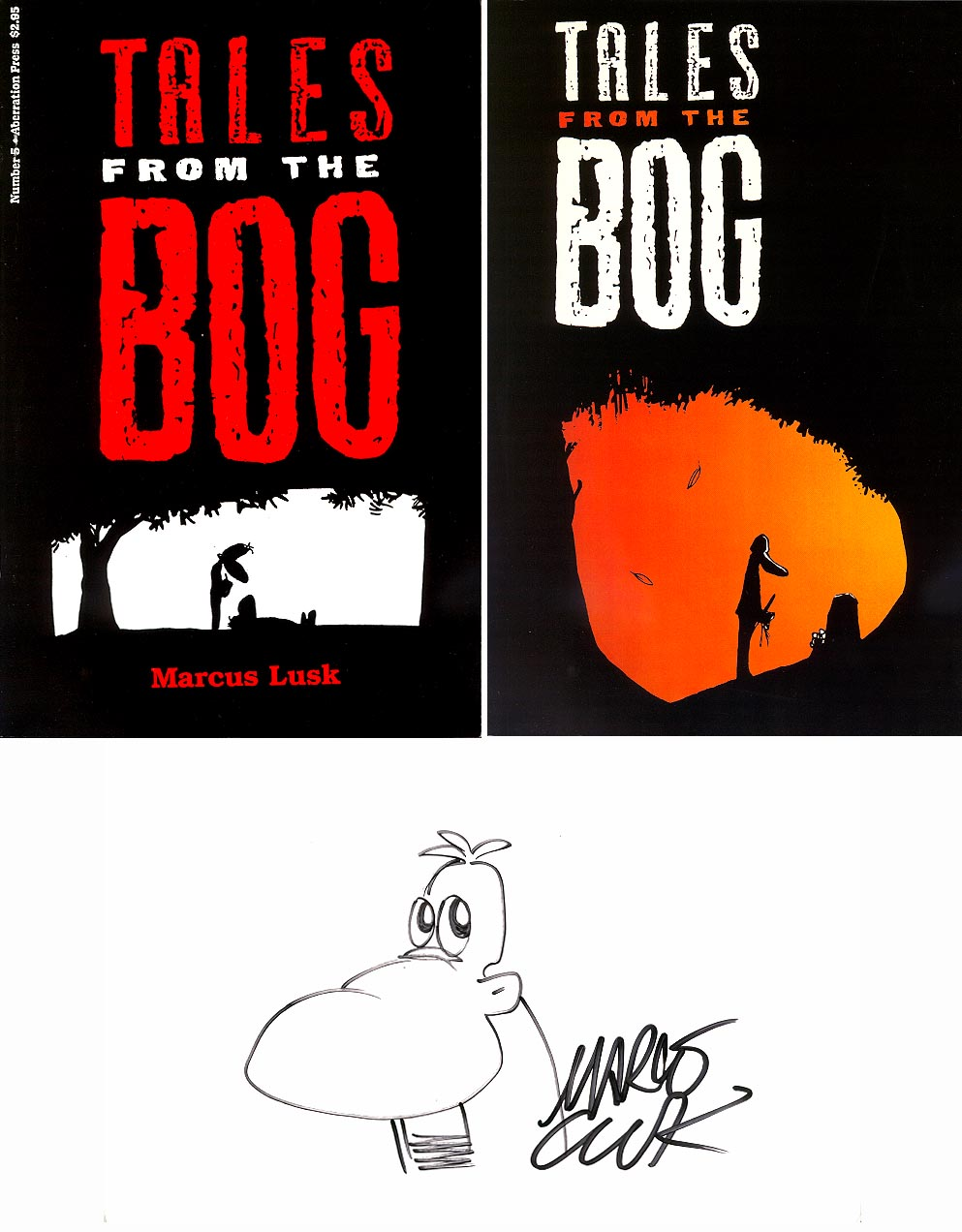 Tales From The Bog 5 Deluxe Signed Set With Sketch