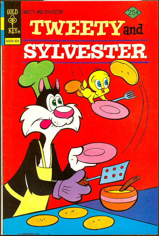 Tweety & Sylvester (Gold Key) 40