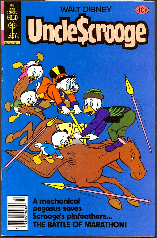 Uncle Scrooge (Gold Key) 169