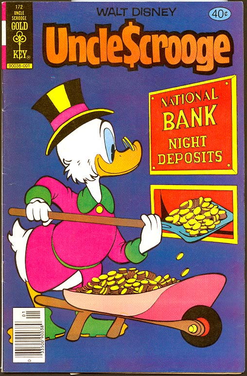 Uncle Scrooge (Gold Key) 172