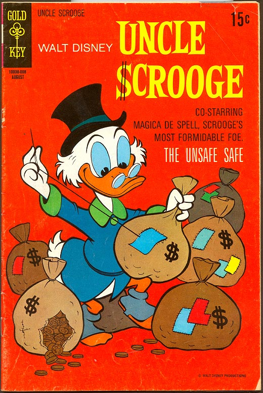 Uncle Scrooge (Gold Key) 88