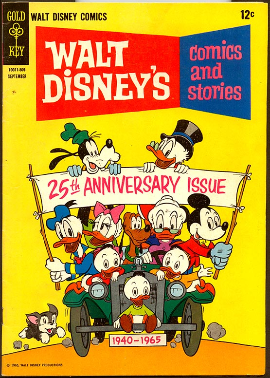 Walt Disneys Comics and Stories (Gold Key) 300 (Also Vol 25 - 12 )