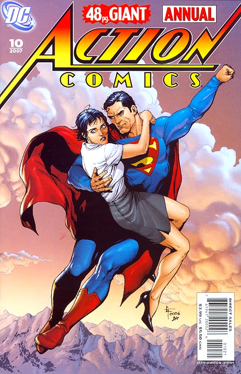 Action Comics Annual 10 ( 1 in 10 Gary Frank Variant)