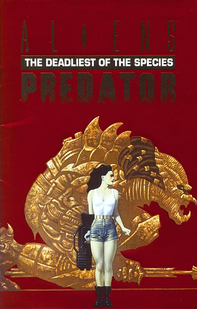 Aliens Predator The Deadliest Of The Species Special Ashcan (Supplement to Hero Magazine 3 ) (Red Foil Cvr)