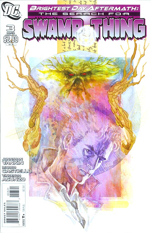 Brightest Day Aftermath The Search For Swamp Thing 3 (of 3 ) ( 1 in 10 David Mack Variant)