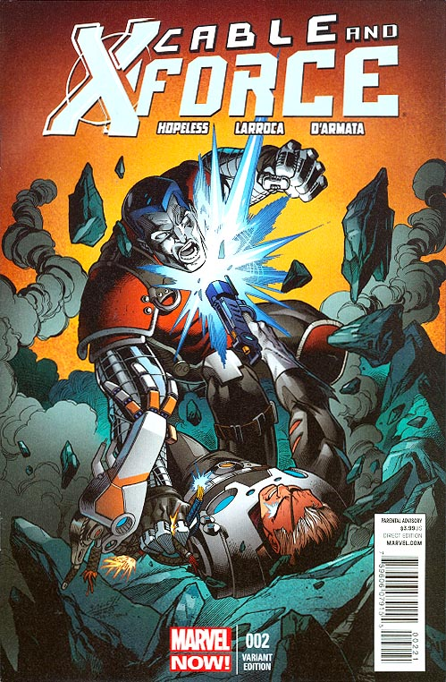 Cable and X-Force 1A 2013 Larroca Variant VF Stock Image