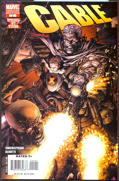 Cable vol 2 - 2 ( 1 in 20 David Finch Variant) -VF
