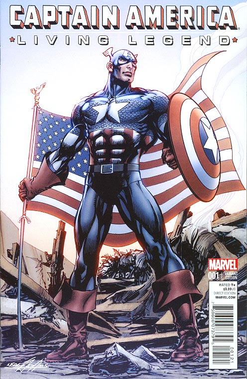 Captain America Living Legend 1 (of 4 ) ( 1 in 25 Neal Adams Variant)