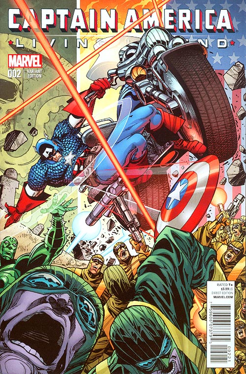 Captain America Living Legend 2 (of 4 ) ( 1 in 25 Walter Simonson Variant)