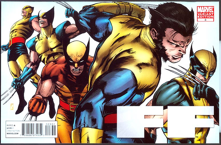 FF 3 ( 1 in 20 Patrick Zircher X-Men Evolutions Variant)