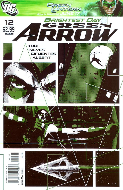 Green Arrow vol 4 - 12 ( 1 in 10 David Aja Variant)