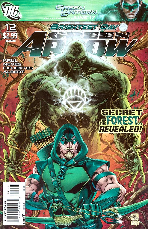Green Arrow vol 4 - 12 (Joe Prado Cvr)