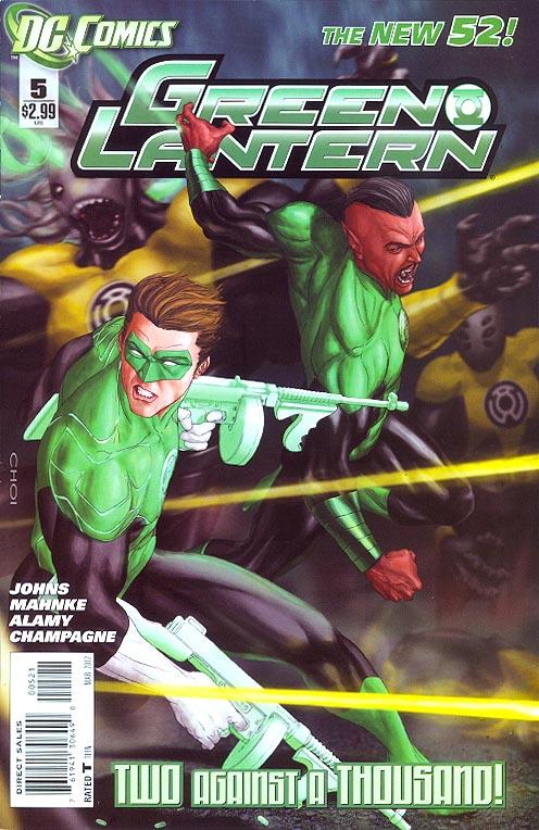 Green Lantern (New 52 ) vol 5 - 5 (Limited Mike Choi Variant)