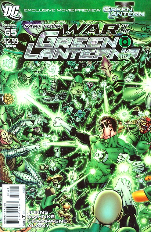Green Lantern vol 4 - 65 ( 1 in 10 George Perez Variant)