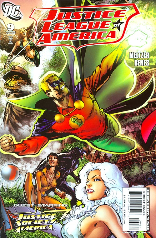 Justice League Of America vol 2 - 9 ( 1 in 10 Phil Jimenez-Andy Lanning Variant)