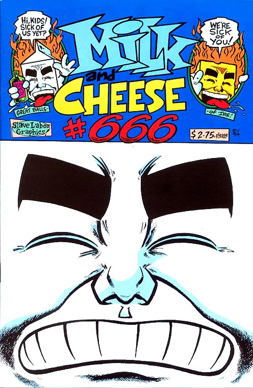 Milk And Cheese 666 ( 2 nd Print)