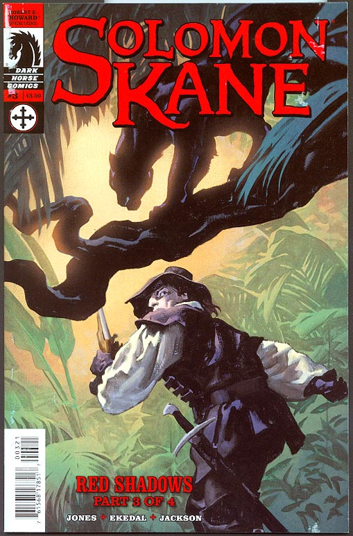 Solomon Kane Red Shadows 3 ( 1 in 4 Gregory Manchess Variant) -VF