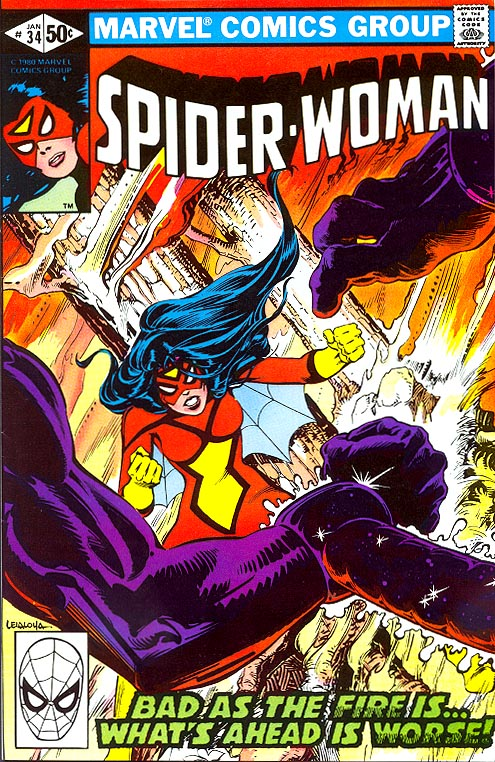 Spider-Woman vol 1 - 34 (Signed Inside By Claremont & Leialoha)