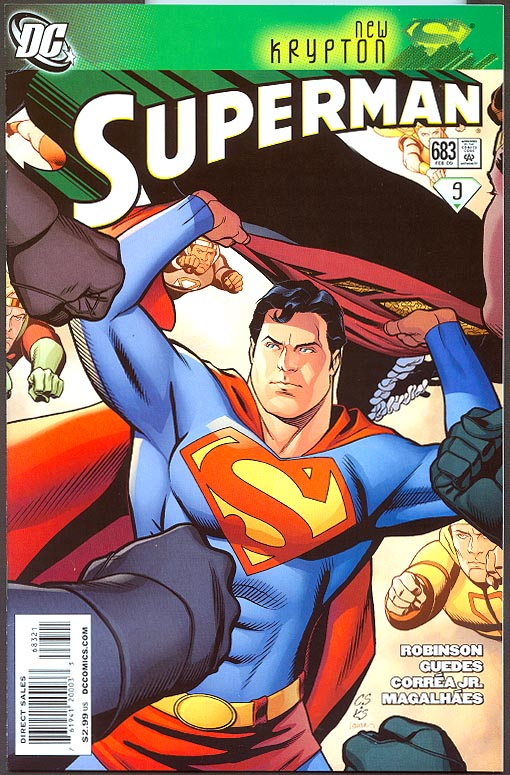 Superman 683 ( 1 in 10 Chris Sprouse Variant)