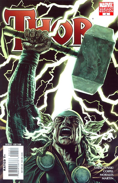 Thor vol 3 - 4 (Lee Bermejo Variant)