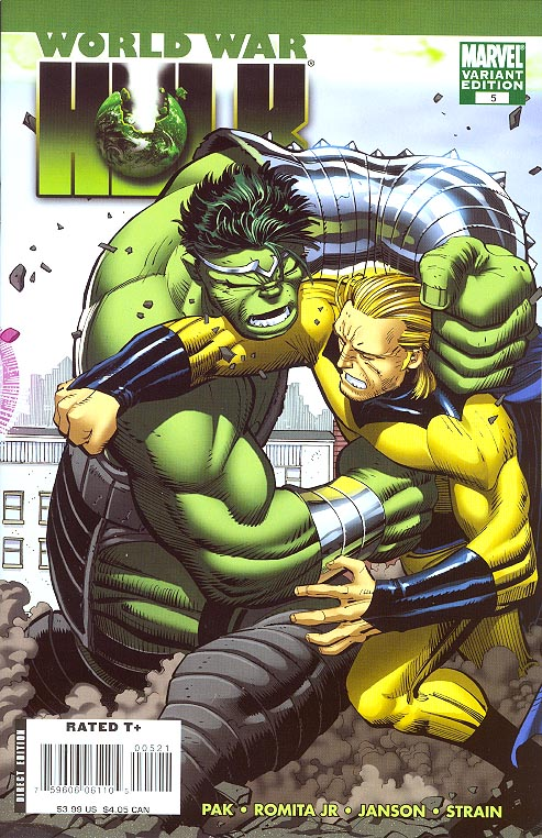 World War Hulk 5 (of 5 ) ( 1 in 15 Romita Jr Variant)
