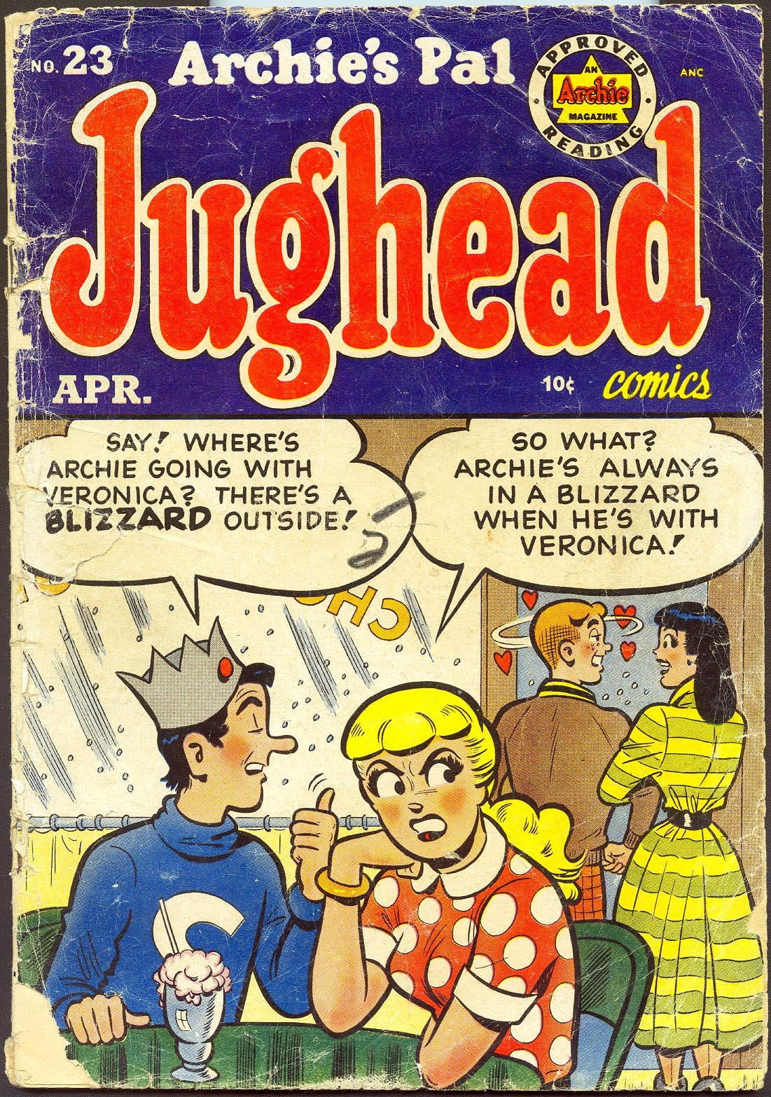 Archies Pal Jughead 23 (Both Covers Detached) -FR